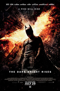 Batman (Christian Bale) is called upon again when an evil terrorist named Bane (Tom Hardy) arrives in Gotham City, intent on destroying it. The film also starsAnne Hathaway as Selina Kyle,Marion Cotillard as Miranda Tate andJoseph Gordon-Levitt as John Blake.Michael Caine plays Alfred,Gary Oldman is Commissioner Gordon andMorgan Freeman reprises his role as Lucius Fox […]