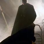 Gotham's protector and his vigilant stare