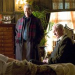 Fox and Alfred take care of a recovering Bruce Wayne after he's poisoned by the Scarecrow