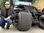 Batmobile drives cancer fight