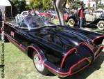 Batmobiles make their way through Burbank