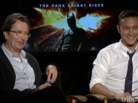 Gary Oldman and Joseph Gordon-Levitt The Dark Knight Rises Interview